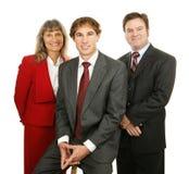 Hombres de negocios cómodos Imagenes de archivo