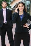 Hombres de negocios, calle Imagenes de archivo