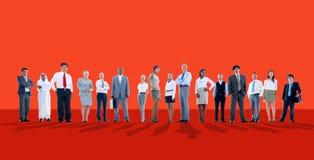 Hombres de negocios de la aspiración Team Corporate Concept Fotos de archivo libres de regalías