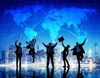 Hombres de negocios de la colaboración Team Teamwork Professional Concept Fotografía de archivo