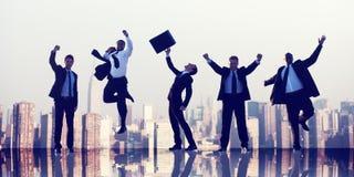 Hombres de negocios de la colaboración Team Teamwork Professional Concept Imagen de archivo