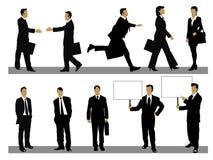 Hombres de negocios de la colección ilustración del vector