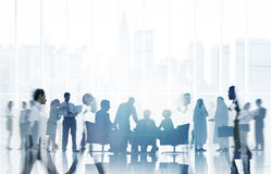 Hombres de negocios de la comunicación Team Concept corporativo Fotos de archivo libres de regalías