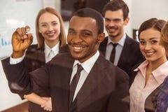 Hombres de negocios de la conferencia foto de archivo