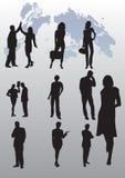 Hombres de negocios de la ilustración Fotos de archivo libres de regalías