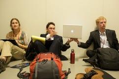 Hombres de negocios de la juventud Fotografía de archivo libre de regalías