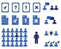 Hombres de negocios de las reuniones y conferencias Presentaciones del entrenamiento Imagenes de archivo
