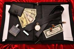 Hombres de negocios de los accesorios Fotos de archivo libres de regalías