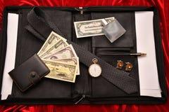 Hombres de negocios de los accesorios Fotografía de archivo libre de regalías