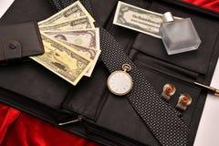 Hombres de negocios de los accesorios Imágenes de archivo libres de regalías