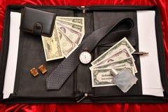 Hombres de negocios de los accesorios Imagen de archivo libre de regalías