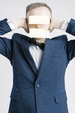 Hombres de negocios de los conceptos e ideas Retrato del caucásico Busine Foto de archivo libre de regalías