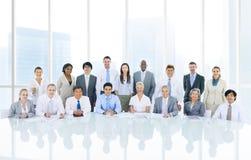 Hombres de negocios de Team Corporate Concept Foto de archivo