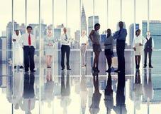 Hombres de negocios de Team Professional Occupation Concept corporativo Foto de archivo