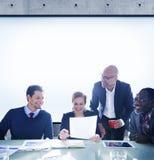Hombres de negocios de Team Teamwork Cooperation Occupation Partnership Fotografía de archivo