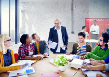 Hombres de negocios de Team Teamwork Cooperation Occupation Partnership Fotos de archivo