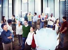 Hombres de negocios de Team Teamwork Cooperation Partnership Concept Foto de archivo libre de regalías