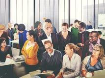 Hombres de negocios de Team Teamwork Cooperation Partnership Concept Imágenes de archivo libres de regalías