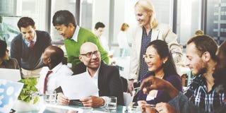 Hombres de negocios de Team Teamwork Cooperation Partnership Concept Fotos de archivo libres de regalías