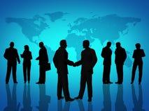 Hombres de negocios del acuerdo Imagen de archivo libre de regalías