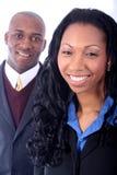 Hombres de negocios del afroamericano foto de archivo libre de regalías