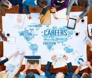 Hombres de negocios del compañero de trabajo Team Concept de la cooperación Foto de archivo