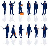 Hombres de negocios del detalle 1 Imagen de archivo
