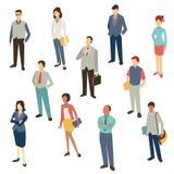 Hombres de negocios del diseño libre illustration