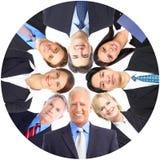 Hombres de negocios del equipo Imagen de archivo