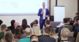 Hombres de negocios del seminario de la conferencia de la reunión de la oficina del concepto del entrenamiento