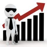 hombres de negocios del ser humano 3d ilustración del vector