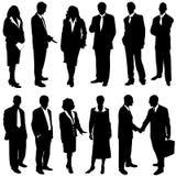 Hombres de negocios del vector Fotos de archivo