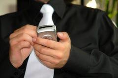 Hombres de negocios en el trabajo Imagen de archivo libre de regalías