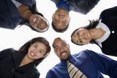 Hombres de negocios en grupo Fotos de archivo libres de regalías