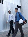 Hombres de negocios - entrenamiento 1 del almuerzo Fotos de archivo libres de regalías