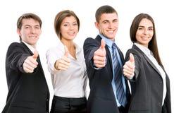 Hombres de negocios felices foto de archivo