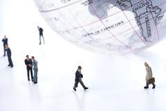 Hombres de negocios globales Foto de archivo libre de regalías