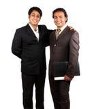 Hombres de negocios indios Fotos de archivo libres de regalías
