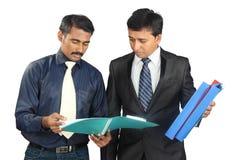 Hombres de negocios indios Fotografía de archivo libre de regalías