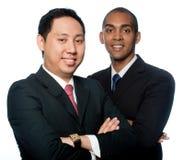 Hombres de negocios jovenes fotografía de archivo libre de regalías
