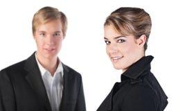 Hombres de negocios jovenes Fotos de archivo libres de regalías