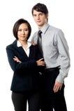 Hombres de negocios jovenes Imagenes de archivo
