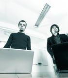 Hombres de negocios jovenes Imagen de archivo libre de regalías