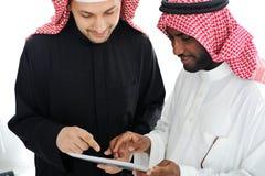 Hombres de negocios que planean el trabajo Fotos de archivo libres de regalías