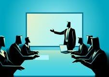 Hombres de negocios que tienen una reunión Imagen de archivo