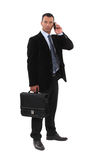 Hombres de negocios serios Imagen de archivo libre de regalías