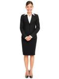 Hombres de negocios - situación de la mujer de negocios Foto de archivo libre de regalías