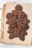 Hombres de pan de jengibre Fotografía de archivo libre de regalías