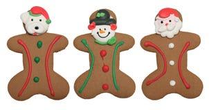 Hombres de pan de jengibre Foto de archivo libre de regalías