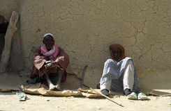 Hombres del Bozo, Sirimou, Malí foto de archivo libre de regalías